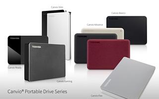 Toshiba обновила серию портативных накопителей данных Canvio
