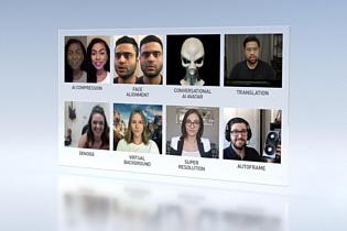 Nvidia использует ИИ для улучшения качества видеозвонков