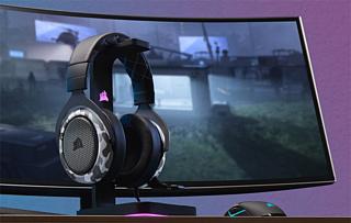 Corsair выпустила новую геймерскую гарнитуру HS60 Haptic Gaming Headset