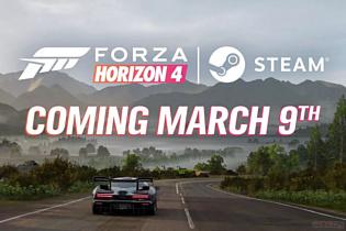 Forza Horizon 4 выпустят в Steam