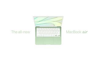Дизайнер показал концепт новых MacBook Air, похожих на iMac с M1 внутри