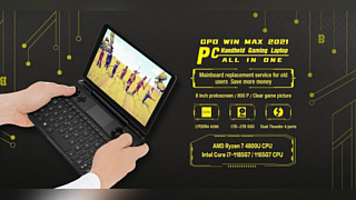 GPD анонсировала компьютер Win Max 2021 с новым AMD APU