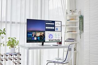 Samsung анонсировала пару новых моделей Smart Monitor