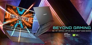 Gigabyte представила свои первые геймерские ноутбуки A-Series с процессорами AMD