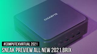 Gigabyte анонсировала новый мини-компьютер BRIX с APU Ryzen 5000U внутри