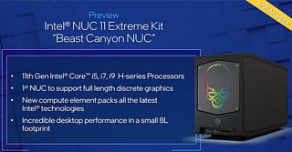 Intel рассказала о своем новом компактном геймерском ПК Beast Canyon