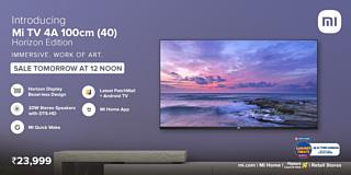 Xiaomi анонсировала новый телевизор Mi TV 4A 40 Horizon Edition