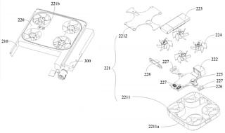 Vivo запатентовала смартфон со встроенной камерой-дроном