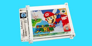 Запечатанный картридж Super Mario 64 продали за $1.5 млн