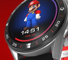 TAG Heuer анонсировала умные часы, посвященные Марио