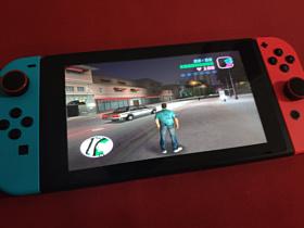 Энтузиасты портировали GTA: Vice City на Nintendo Switch