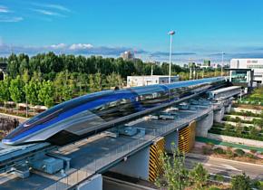 Китайский поезд достиг рекордной скорости в 600 км/ч
