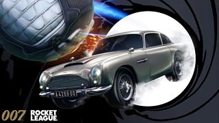Легендарный Aston Martin Джеймса Бонда появится в Rocket League