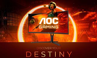 AOC анонсировала пять новых игровых мониторов Agon G3