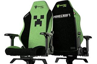В продаже появилось геймерское кресло в стиле Minecraft