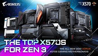 Gigabyte выпустила сразу несколько материнских плат на чипсете AMD X570S
