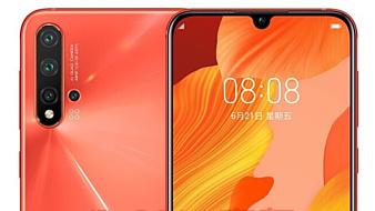 Утечка: несколько рендеров Huawei nova 5 Pro