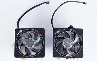 AMD улучшила свои кулеры Wraith Prism