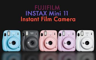 Fujifilm показала новую камеру мгновенной печати Instax Mini 11