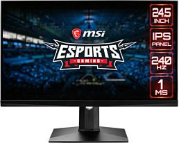 MSI представила новый 240-герцовый монитор Optix MAG251RX