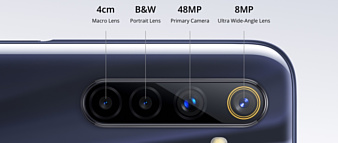 Realme 6s получил 48-мегапиксельную камеру, 90-герцовый экран и чипсет Helio G90T