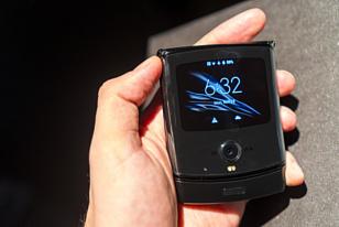 Motorola Razr 2 оснастят увеличенными экранами