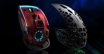 Zephyr — геймерская мышь со встроенным вентилятором