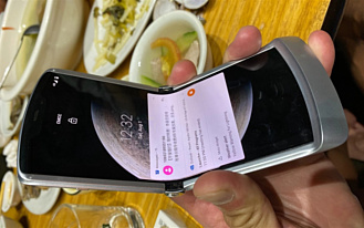 Утечка: фотографии Motorola RAZR 5G