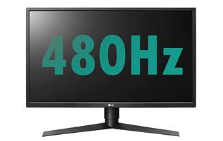 AUO и LG готовят к выпуску 480-герцовые панели для мониторов