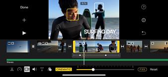 Новые функции iMovie и Clips