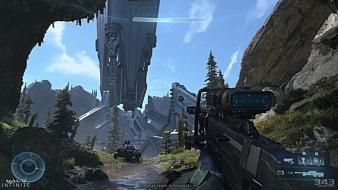Microsoft показала первый сюжетный трейлер Halo Infinite