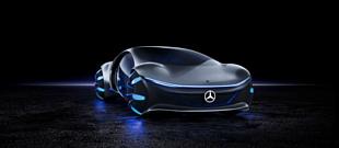 Mercedes-Benz Vision AVTR —концепт-кар, вдохновленный фильмом «Аватар»