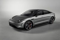 Sony показала концепт-кар Vision S с электрическим двигателем и огромным количеством сенсоров