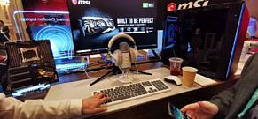 MSI представила клавиатуру CK40, мышь CM30 и наушники CH40