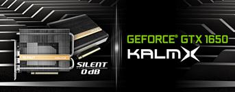 Palit выпустила GeForce GTX 1650 KalmX с пассивным охлаждением