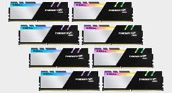 G.Skill анонсировала 256-гигабайтный набор оперативной памяти Trident Z Neo