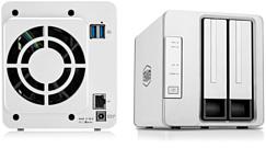 TerraMaster выпустила недорогую NAS-систему F2-210
