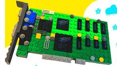 На сайте LEGO Ideas появилась модель видеокарты 3Dfx Voodoo 3D