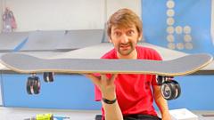 700-долларовые колесики Mac Pro использовали в скейтборде
