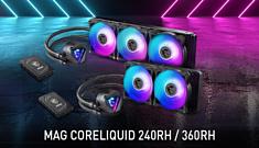 MSI выпустила новую серию AiO-кулеров MAG CoreLiquid