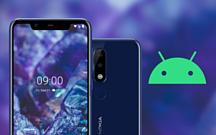 Nokia 5.1 Plus обновили до Android 10