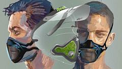 Reebok представил свой концепт фитнес-маски