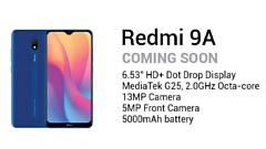 Xiaomi раньше времени раскрыла характеристики Redmi 9A