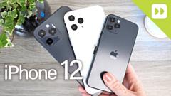 Видео: макеты iPhone 12, 12 Pro и 12 Pro Max сравнили со старыми iPhone