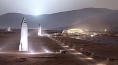 Илон Маск хочет отправить астронавтов на Марс в 2024