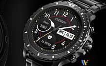 Citizen анонсировала умные часы CZ Smart