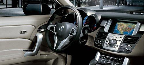 Acura доверяет GPS контролировать температуру в своем RDX 2009 года выпуска