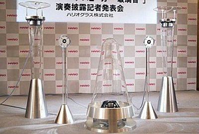 Стеклянная аудио система Harion за 168 тыс. долларов США