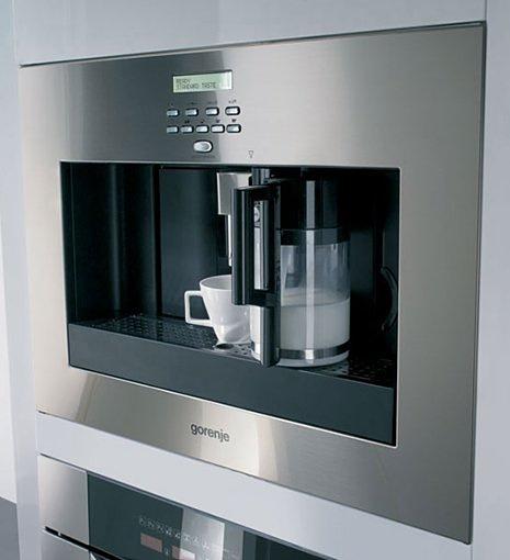 Встроенная кофеварка от Gorenje – торжество высоких технологий