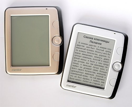 Устройство для чтения электронных книг от Mentor
